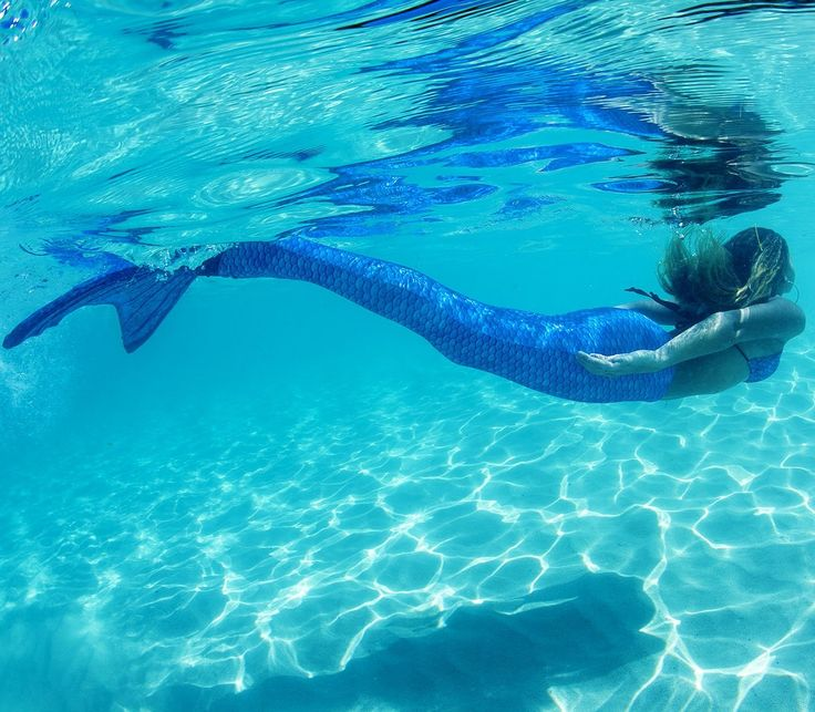 Fin Fun Mermaid Tail, Fin Fun Monofin, Arctic Blue, Child 12: Amazon.co.uk: Clothing
