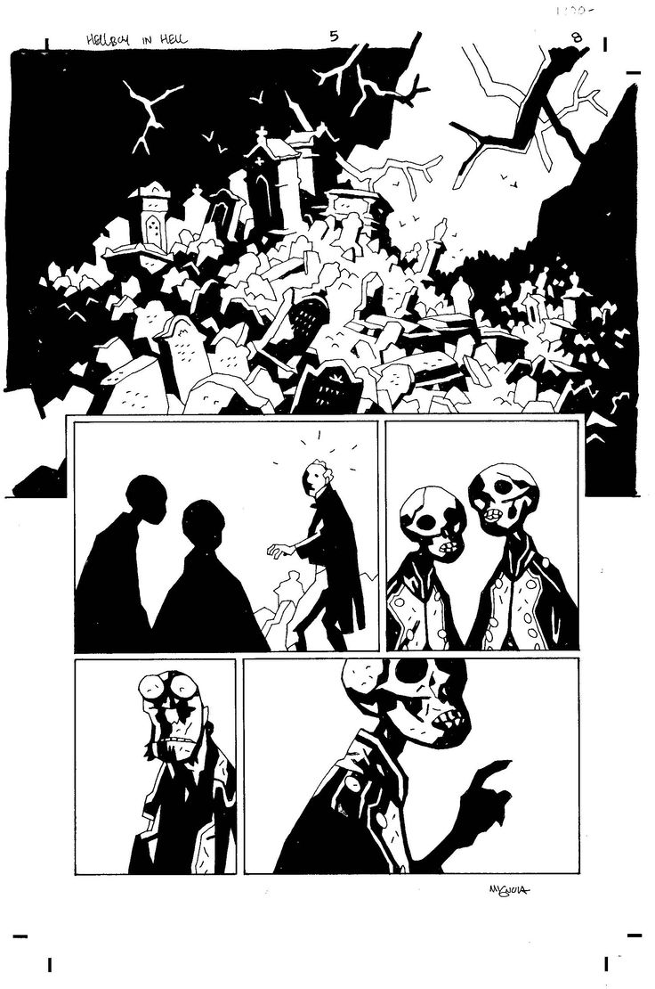Hellboy in Hell - Mike Mignola