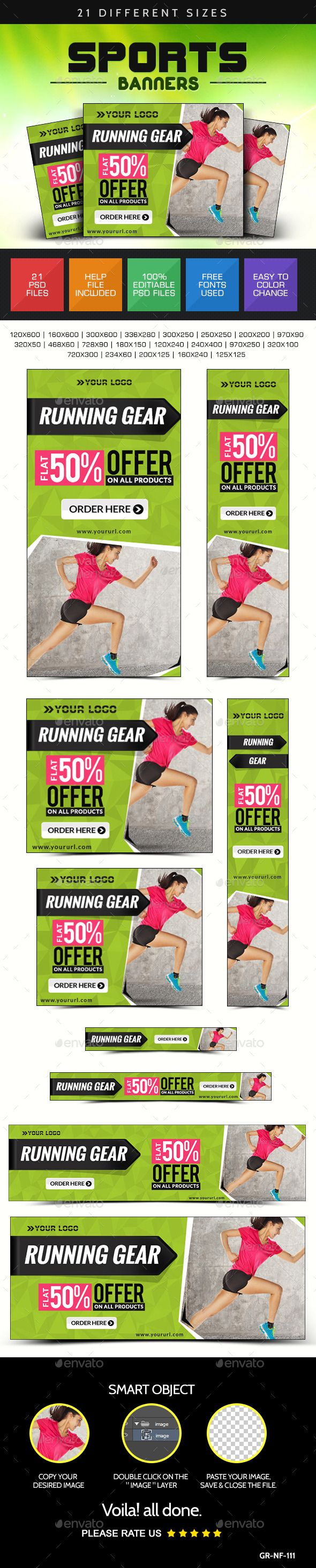 Online Sports Store Web Banners Template PSD | Buy and Download: http://graphicriver.net/item/online-sports-store-web-banners/8961042?WT.ac=category_thumb&WT.z_author=doto&ref=ksioks