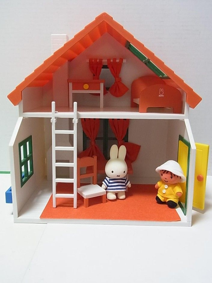 Miffy toy house!
