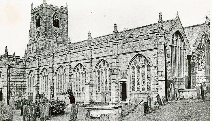 •  All Saints' Church tower is a replica of the Parish Church of Saint Anietus in the village of Saint Neot, Cornwall.