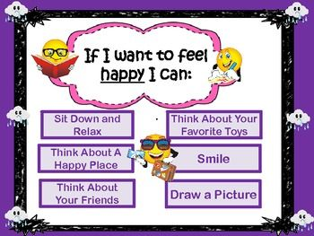 FREE - How To Feel Happy : A poster to promote positive behavior in the classroom!