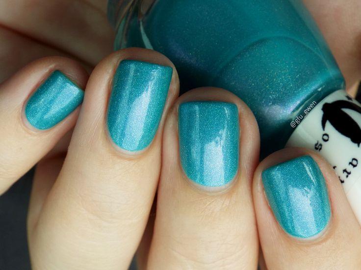 Olaf, Carpe Noctem Cosmetics, nail polish, teal polish, vernis à ongles