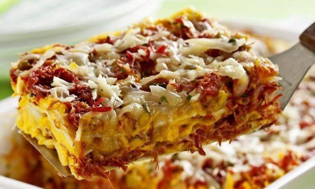 Dry Meat Lasagna - Network Recipes