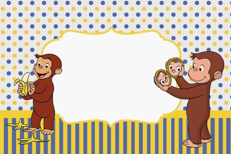 Curious George Free Printable Invitations. Check out the whole set! :)