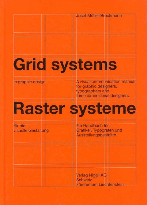 Grid systems by Josef Müller-Brockmann