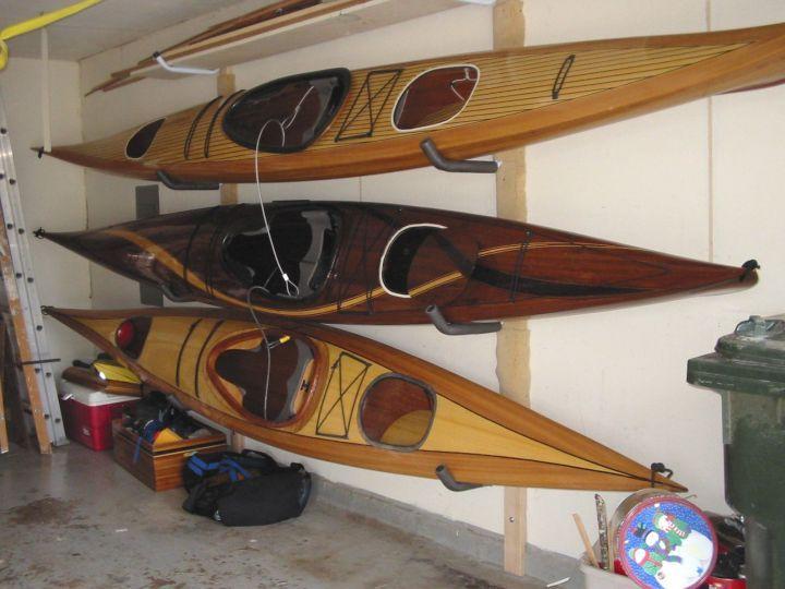 Outdoor Kayak Storage Storing Kayaks Lake House