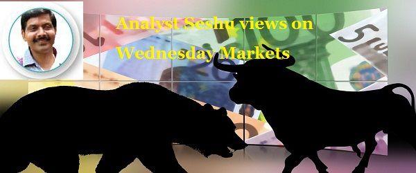 బుధవారం మార్కెట్లపై ఎనలిస్ట్ శేషు వ్యూహాలు Analyst Seshu Views on Wednesday Markets  http://www.profityourtrade.in/news-list-view.php?vid=743