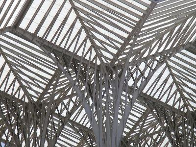 Santiago Calatrava: Gare do Oriente, Lisbon 1998