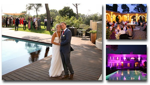 Welcome to our new Wedding Venue in France on the Cote d'Azur, Lou Casteou!