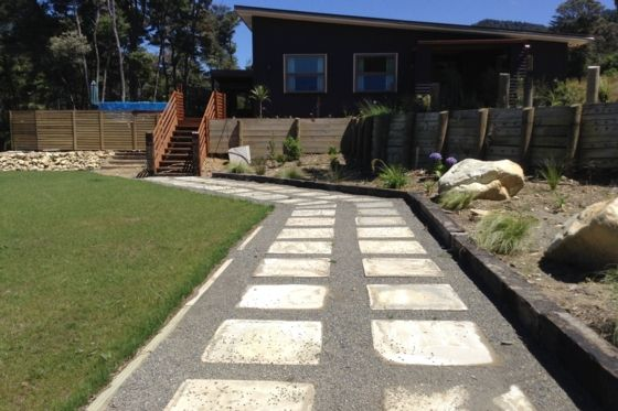 200 sqm new home with swimming pool in Pelorus Sound, Marlborough | Bookabach