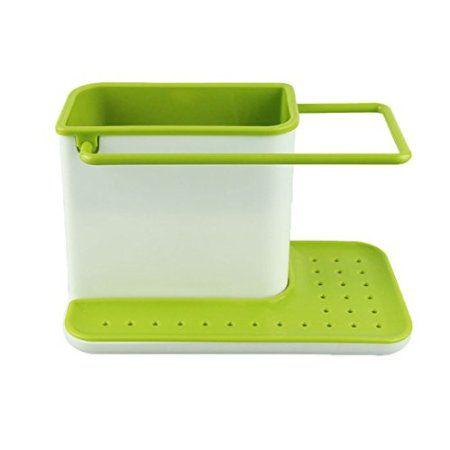 3 IN 1 Stand for Kitchen Sink for Dishwasher Liquid, Brush, Sponge etc.: Amazon.in: Home & Kitchen