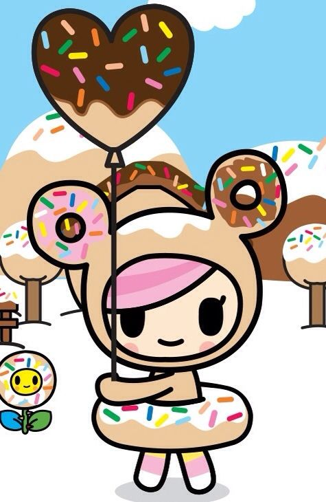 i found donutella herself - Tokidoki Donutella Coloring Pages