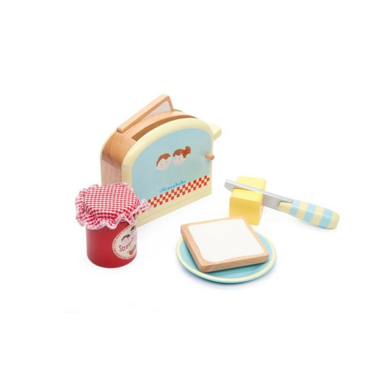 Toaster Set Wooden - Le Toy Van for sale by Little Shop of Treasures. Other Le Toy Van available now at LSOT.
