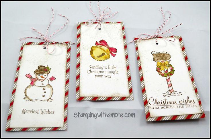 Oltre 1000 immagini su Christmas Tags & Gift Card Holders su Pinterest