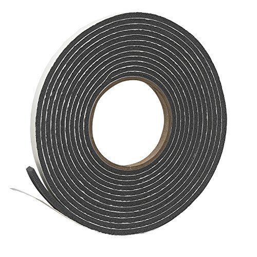 Frost King Vinyl Foam Tape Closed Cell Moderate Compression 3 8 Foam Tape Foam Stick Tape
