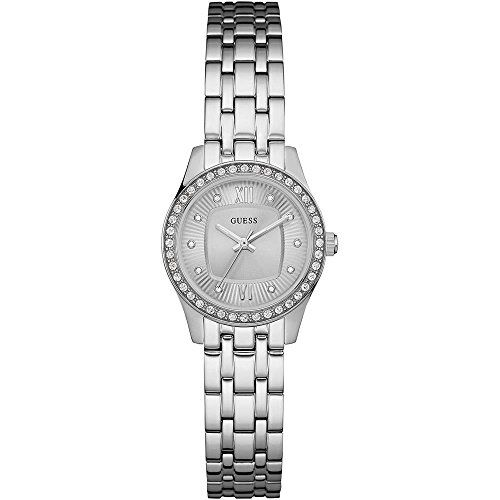 Guess Analog Silver Dial Stainless Steel Ladies Watch W0762L1 * Click image to r...