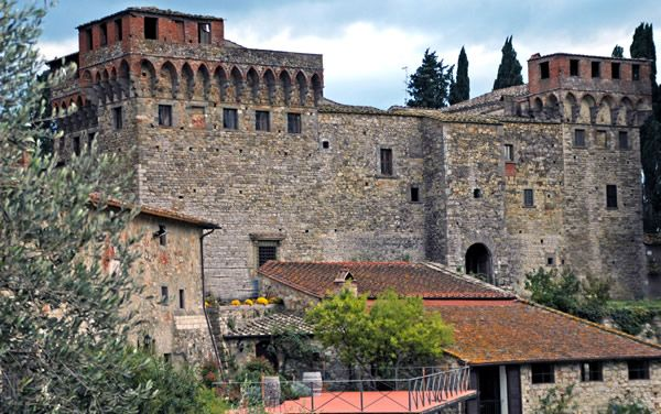 www.vinoturismo.it - Castello Del Trebbio - Florence, Italy.  Another stop on our fabulous wine tour.