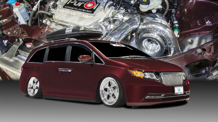 This Is A 1,029 Horsepower Honda Minivan