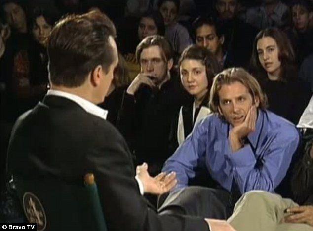 A young Bradley Cooper 24yo asks Sean Penn a question on 'Inside The Actors Studio' 1999