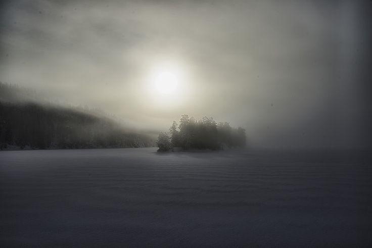 When the Fog meets the Sun - Sundtangen, Nordre Elvåga.