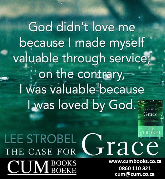 Lee Strobel crafts a compelling and highly personal experiential case for God, focusing on God's #transforming work in the lives of men and women today.   God's grace can revolutionize your eternity and relationships...starting today.