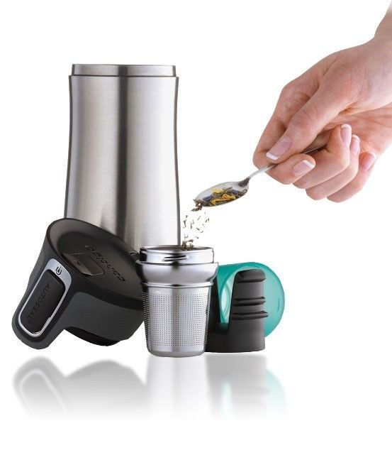 Contigo West loop v2 Vacuum Insulated Thermos & Tea Infuser Mug Autoseal® Lid   #Contigo
