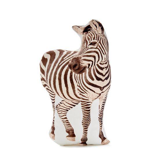 Zebra Zebra Cushion Zebra Pillow Pillow Decor Animal