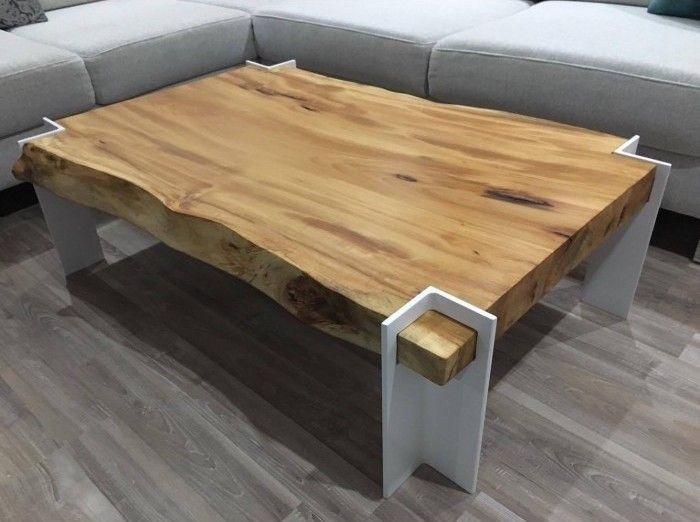 Slovensky-Italiano-English  Moderný konferenčný stolík z masívneho javorového dreva. Konferenčný stolík - ACER je modernou kombináciou bielych kovových nôh a masívneho javorového dreva....