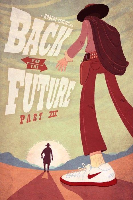 Fan art of 'Back to the Future Part III' (1990)