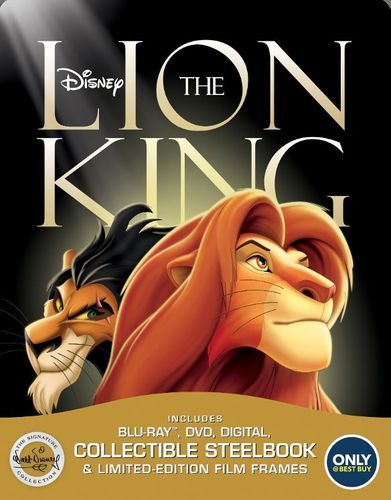 The Lion King: The Walt Disney Signature Collection [SteelBook] [Blu-ray/DVD] [Only @ Best Buy] [1994]