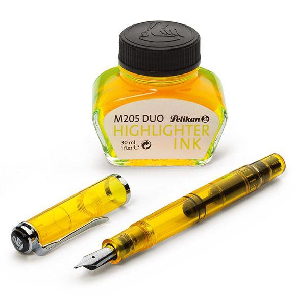 Highlighter Fountain Pen 蛍光ペンになる!