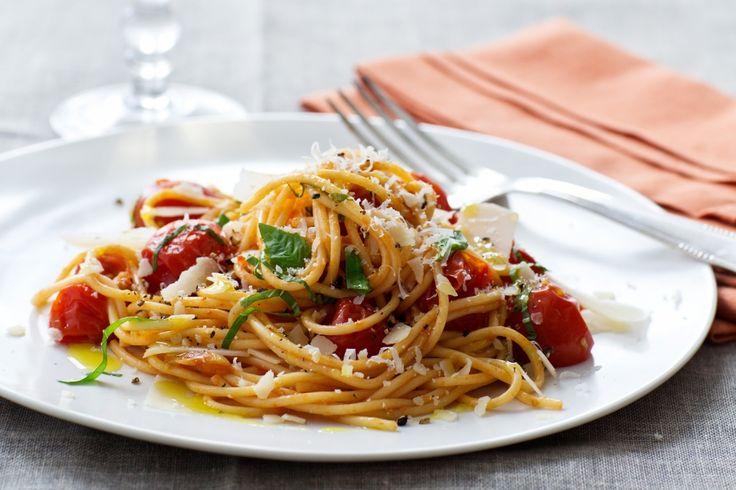 Cherry Tomato Spaghetti   Recipes   Giada De Laurentiis