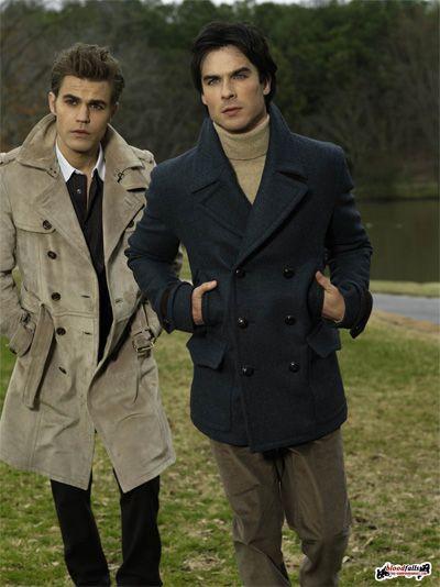 Stefan (Paul Wesley) & Damon (Ian Somerhalder) Salvatore