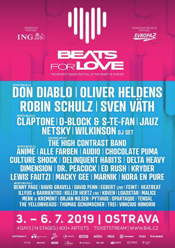 Beats For Love 2019 European Festivals Electronics Festival Good Music