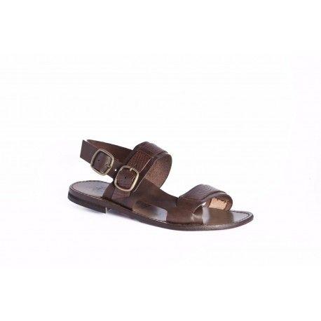 Mens Sandals Les Hommes Ridged Sole Sandals Sandals Factory Outlet