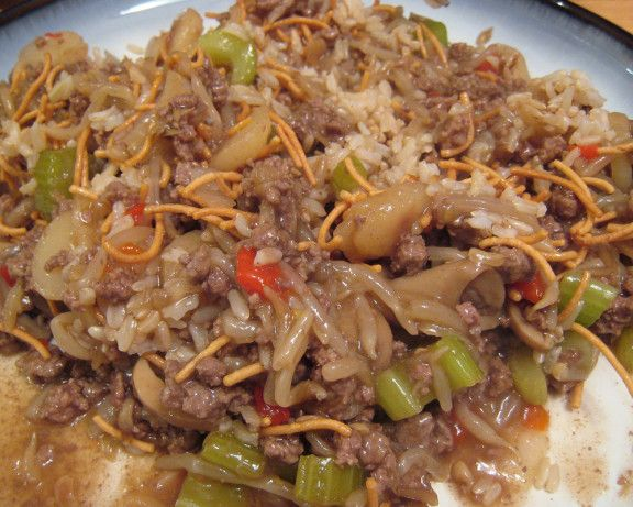 Make and share this Ground Beef Chow Mein recipe from Food.com.