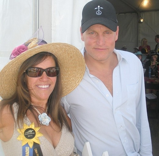 Woody Harreison and Downtown Diene at Preakness 2011