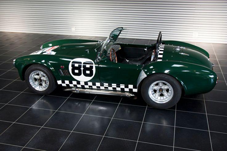 Beautiful Shelby Cobra replica for sale at www.tophatclassics.com