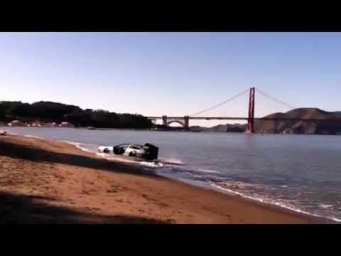 RARE: DeLorean Hovers on the Bay
