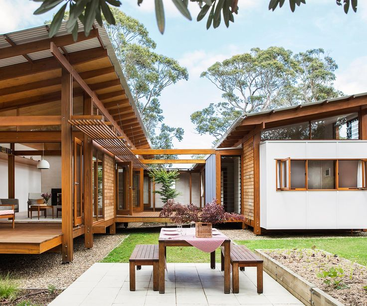 A well-travelled couple has combined Japanese and European design influences in a coastal NSW home that's destined to generate years of summery memories.