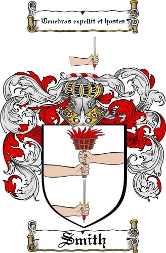 Smith Coat of Arms Smith Family Crest Instant Download - for sale ...