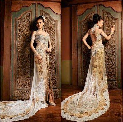 Kebaya modern kebaya mewah kebaya pengantin wedding dress Qbaya.com