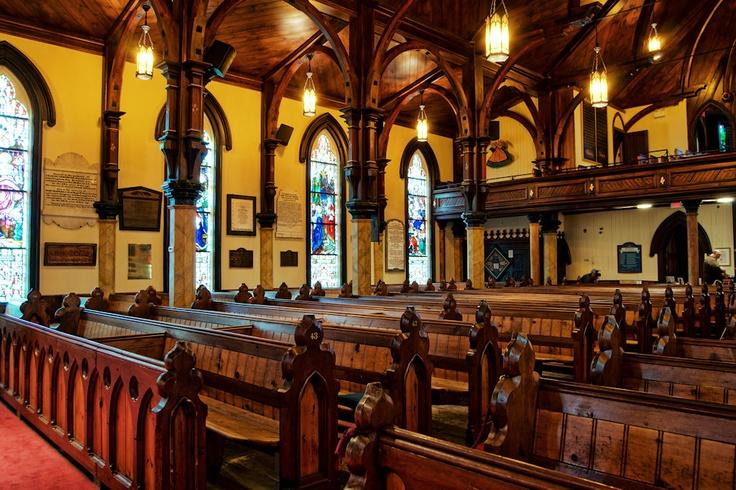 T. John's Anglican Church, Lunenburg, Nova Scotia.