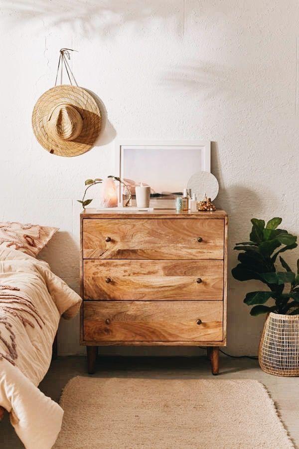 Holzkommode Naturholzkommode Bohmisches Schlafzimmer