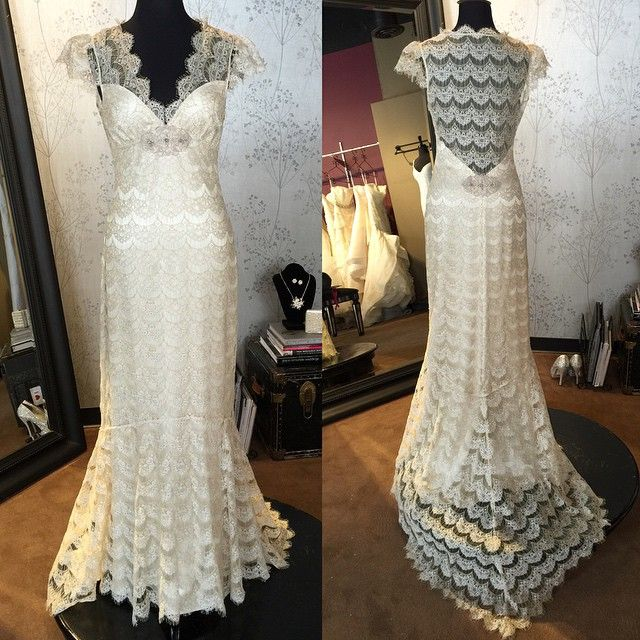 161 best cp stockistssalons images on pinterest salons wedding claire pettibone eloquence wedding dress at the little white dress denver co junglespirit Image collections