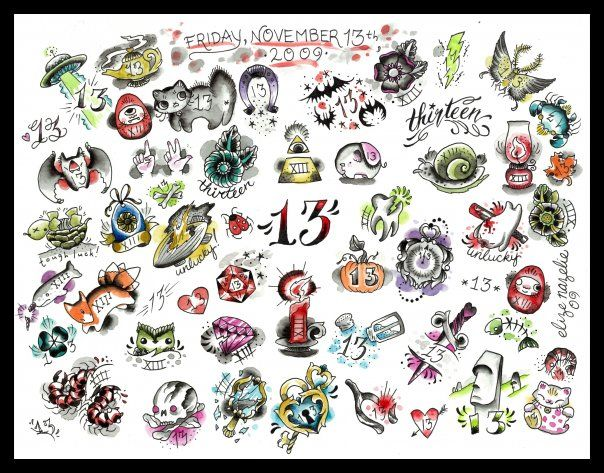 Best 10 friday the 13th tattoo ideas on pinterest for Lucky 13 tattoo piercing prices