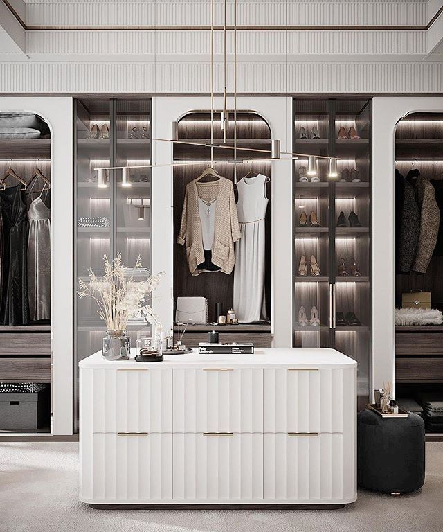 Ankleide Einbauschrank Interior Design In 2020 Luxury Wardrobe Interior Home