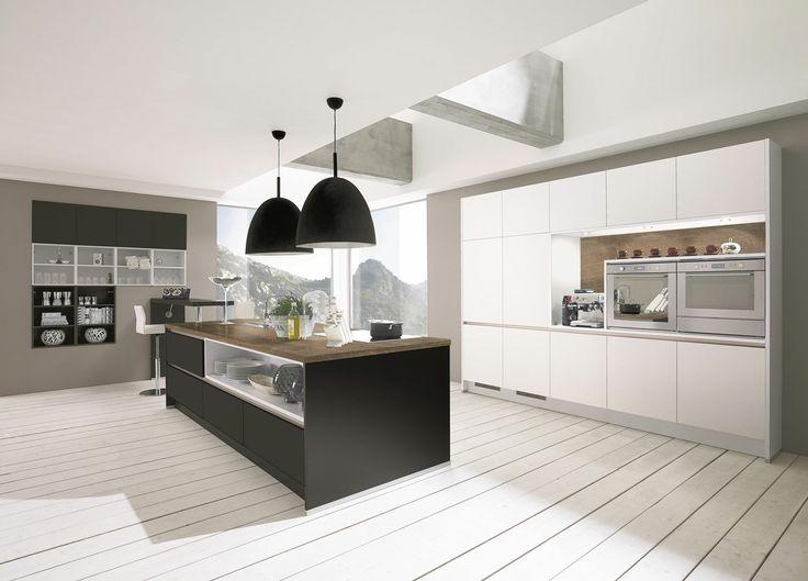 Au cœur de votre cuisine moderne un îlot central design et fonctionnel