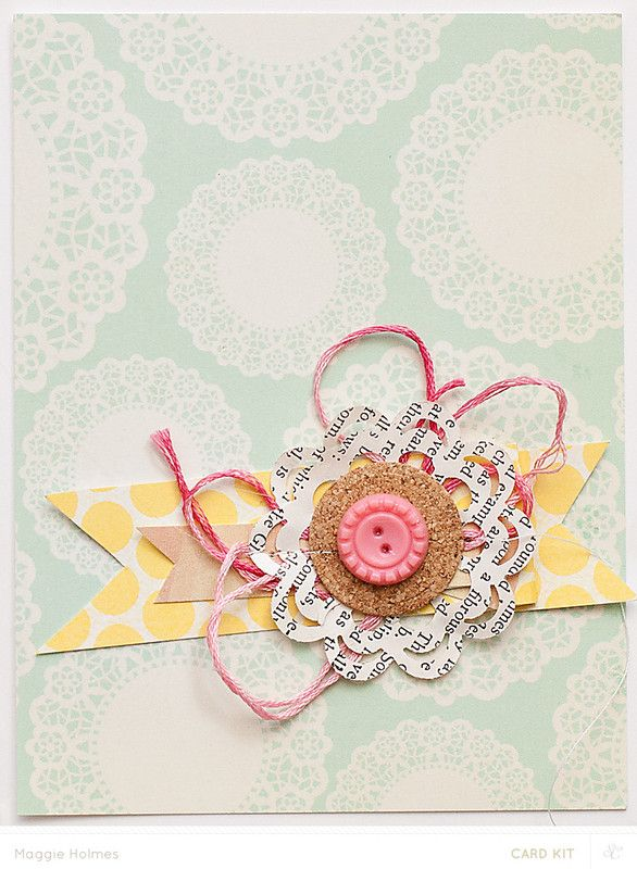Awesome Card Making Embellishment Ideas Part - 12: Embellishment